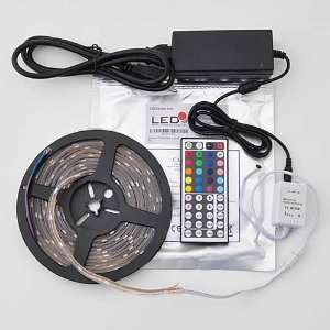 16.4 Ft RGB Color Changing Kit with LED Flexible Strip, 44 Button DIY