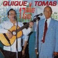 QUIQUE Y TOMAS   17 GRANDES EXITOS   CD
