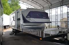08 KODIAK 314THV Off Road Toy Hauler Travel Trailer RV Hybrid Camper