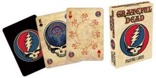 GRATEFUL DEAD COLLECTABLE POKER PLAYING CARDS