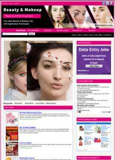 Making Money Beauty & Makeup Tips Business Websites