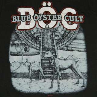 1982 BLUE OYSTER CULT VTG PROMO T SHIRT NOS tour tee