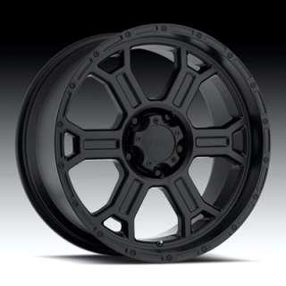Vision Wheel Raptor   372 Matte Black