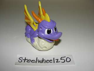 Spyro The Dragon Figure Toy 2002 Taco Bell Sierra Playstation Cake