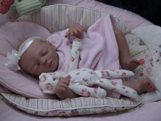 OOAK POLYMER CLAY SCULPT Baby Doll by Reborn Artist PDRA