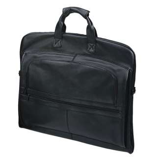 New GOODHOPE Deluxe NAPA Cowhide Leather Garment Bag