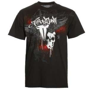 Throwdown Black Death Crown T shirt