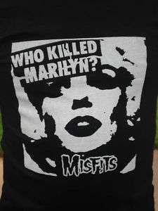 Who Killed Marilyn The Misfits Punk Shirt Danzig Large