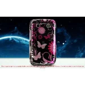 BLACKBERRY BOLD 2 ONYX 9700 PINK BUTTERFLIES DESIGN HARD
