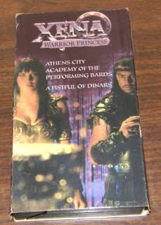 Xena Warrior Princess Used VHS Starring Lucy Lawless