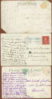 Postcards, Delaware Water Gap, and Stroudsburg, 1917