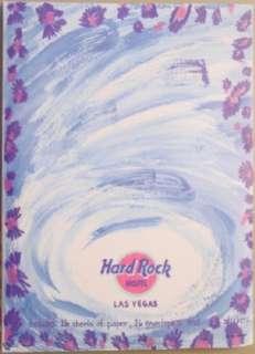 Hard Rock Hotel LAS VEGAS Rock n Roll Stationery Set