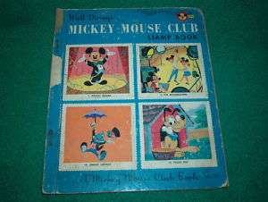 Walt Disneys Mickey Mouse Club Stamp Book, 1956,