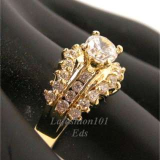 Best selling Gold Plated Women Bridal/Wedding Ring sz 5