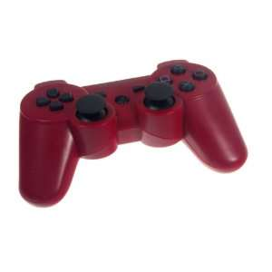RED 6 AXIS shock Wireless Bluetooth Controller for Sony Playstation 3