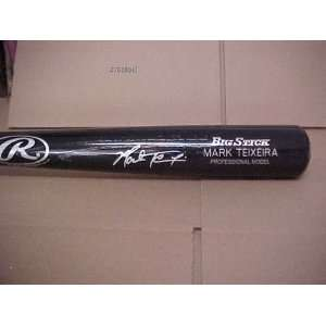 Mark Teixeira Hand Signed Autographed New York Yankees Engraved Full