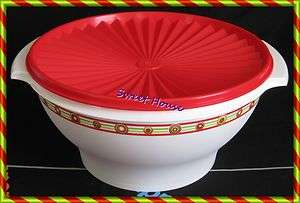 Tupperware Bicentennial Retro Servalier 17 C Bowl New