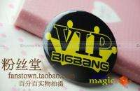 New Big Bang Bigbang VIP Crown Button Pin Badge #005