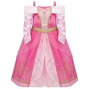 Sleeping Beauty Pink Aurora Dress Costume Halloween NEW