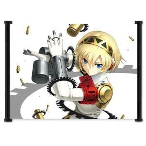 Shin Megami Tensei Persona 3 Game Fabric Wall Scroll Poster (42x32