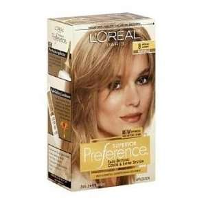 com Loreal Superior Preference #8 (Natural) Medium Blonde KIT Beauty