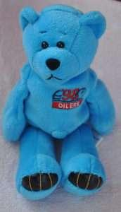 NWOT George #27 (Oilers) NFL Football Bear BY Limited Treasures 1998