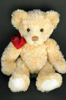 Russ Spencer Cream Tan Teddy Bear Plush Stuffed Animal Lovey