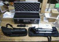 Zoom Spotting Scope, tripod, case. hunting birding 709942205138