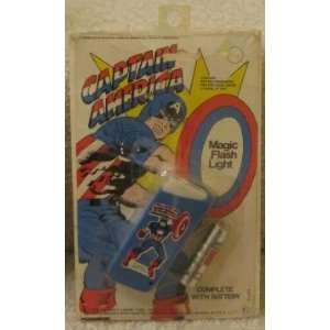 Marvel Comics Captain America Magic Flash Light