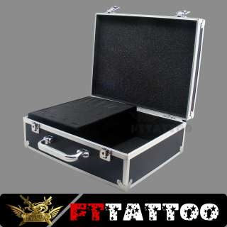 Great quality Black Tattoo carrying case with lock keys