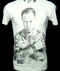 Metallica James Hetfield Tattoo Rock Metal Shirt S ~ XL