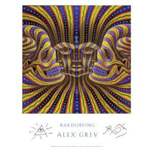 BardoBeing Poster Signed By Alex Grey: Everything Else