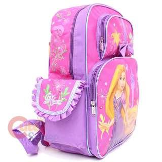 Dinsey Tangled Rapunzel School L Backpack Lunch Bag Set