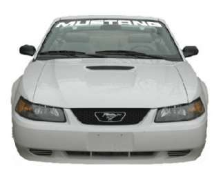 99 04 Ford Mustang Front Windshield Banner Sticker