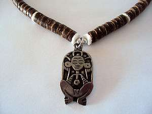 Taino Symbol Caguana Necklace...