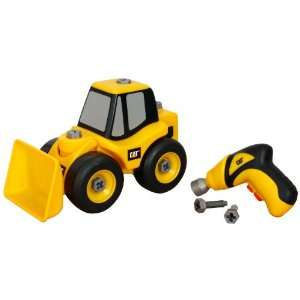 Toystate Caterpillar Construction Take A Part Trucks Wheel Loader