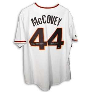 Willie McCovey San Francisco Giants Autographed White