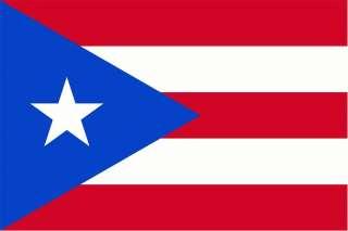PUERTO RICO / RICAN VINYL FLAG DECAL STICKER 10 SIZES