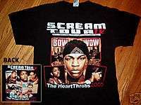 LIL BOW WOW large T shirt 2005 OMARION rap Pretty Ricky