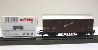 MARKLIN HO Freight Car BANANEN from display 00755   NEW