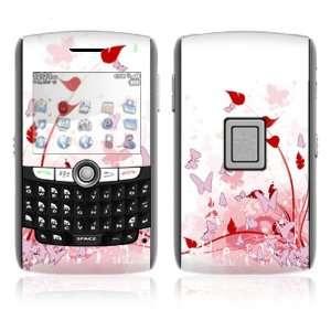 BlackBerry World 8800/8820/8830 Vinyl Decal Skin   Pink