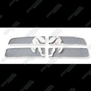 02 05 Dodge Ram Symbolic Black Mesh Grille Grill Insert