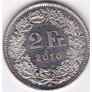 2010 B Switzerland 2 Franc Coin Everything Else