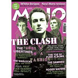 : Mojo Magazine #112 The Clash Cover March 2003: MOJO MAGAZINE: Books