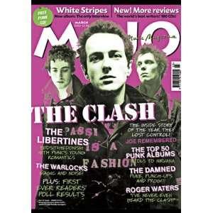 : Mojo Magazine #112 The Clash Cover March 2003: MOJO MAGAZINE: Books