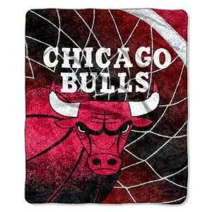 Chicago Bulls Super Soft Sherpa Blanket