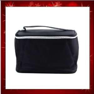 Foldable Lady Makeup Cosmetic Hand Case Zipper Pouch Bag Purse B0268