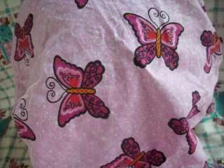 Hot Pink Butterflies with heart and bubbly sparkles in white