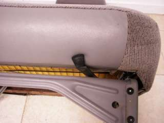 SILVERADO TAHOE BLAZER GMC SIERRA SUBURBAN CLOTH FRONT BENCH SEAT