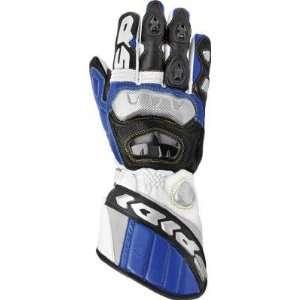 Spidi Sport S.R.L. Race Vent Gloves , Color White/Blue/Black, Size